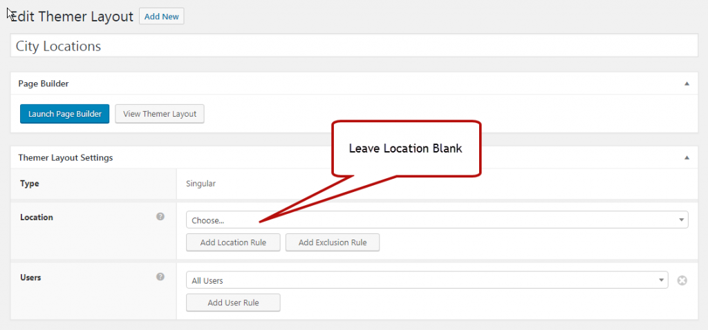 Create Template in Beaver Themer to Select in WordPress Page Template Field